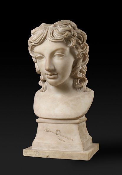 Curled Up「Bust Portrait Of Prince Henry Lubomirski In The Character Of Bacchus」:写真・画像(8)[壁紙.com]