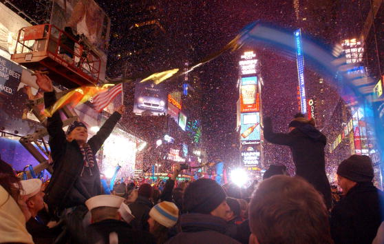 Sports Ball「New Years Eve In Times Square, Bloomberg Mayor」:写真・画像(10)[壁紙.com]