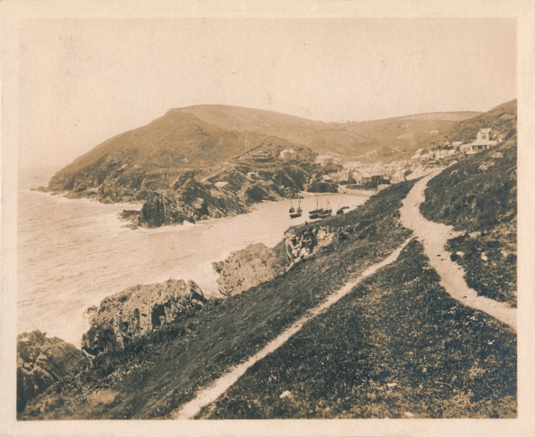 Sepia Toned「Polperro from the Lookout', 1927」:写真・画像(7)[壁紙.com]