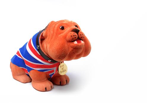 Nodding Dog「British Bulldog」:スマホ壁紙(2)