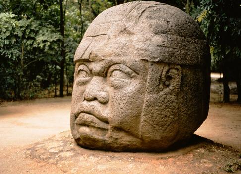 Central America「Olmec stone head , Jalapa , Mexico」:スマホ壁紙(19)
