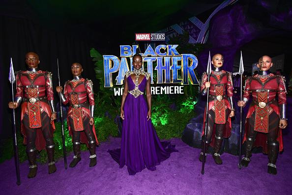 "Film Premiere「Premiere Of Disney And Marvel's ""Black Panther"" - Red Carpet」:写真・画像(11)[壁紙.com]"