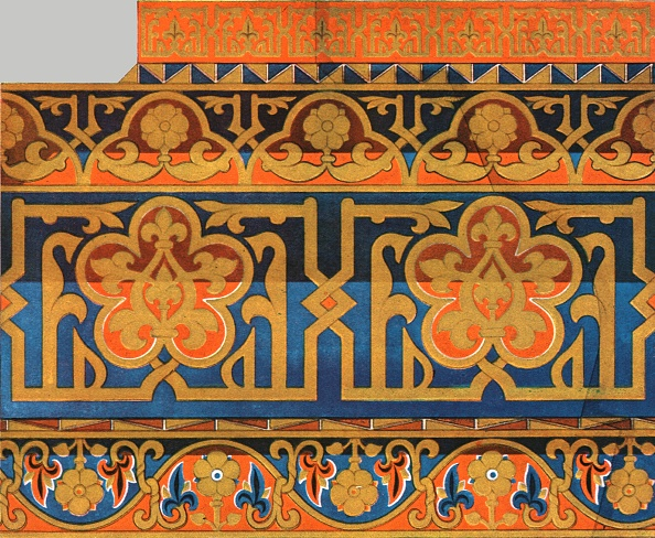 Ceiling「Painted Wooden Ceiling In The Cathedral At Messina」:写真・画像(3)[壁紙.com]