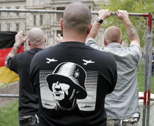 Patriotism「Neo-Nazis Hold Rally in Lansing」:写真・画像(1)[壁紙.com]