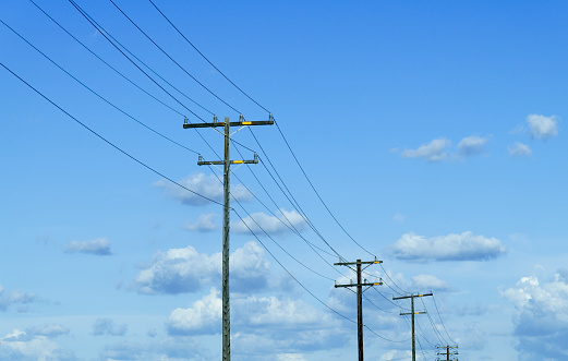 Cable「Power lines and cloud」:スマホ壁紙(8)