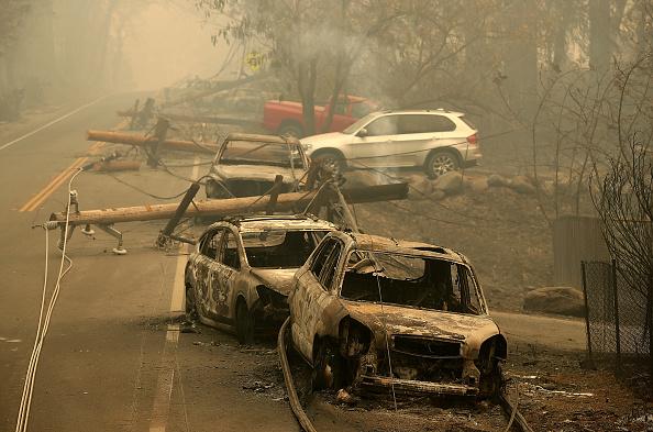 カリフォルニア州「Rapidly-Spreading Wildfire In California's Butte County Prompts Evacuations」:写真・画像(16)[壁紙.com]