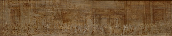 Panoramic「Charles I And The Knights Of The Garter In Procession」:写真・画像(19)[壁紙.com]