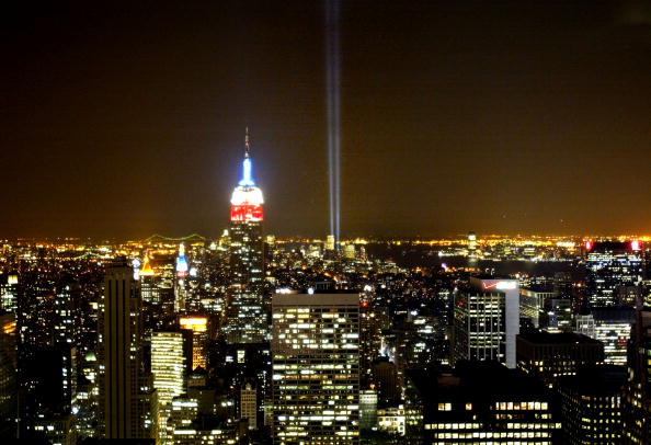 Empire State Building「9/11 Commemorated At Ground Zero 」:写真・画像(15)[壁紙.com]