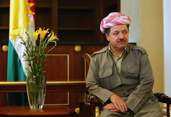 Massoud Barzani「US Ambassador To Iraq Visits Northern Iraq」:写真・画像(4)[壁紙.com]