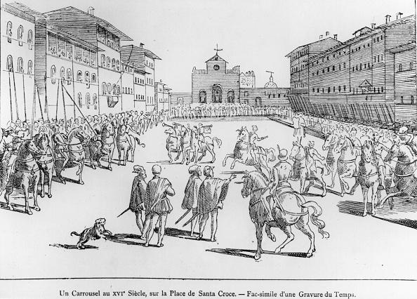 Circa 15th Century「Tuscany Town Life」:写真・画像(5)[壁紙.com]