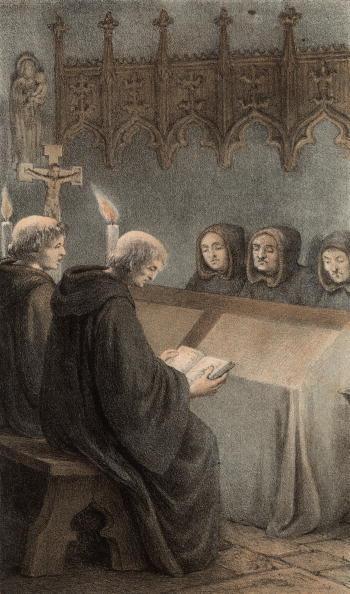 Bench「Benedictine Monks」:写真・画像(5)[壁紙.com]