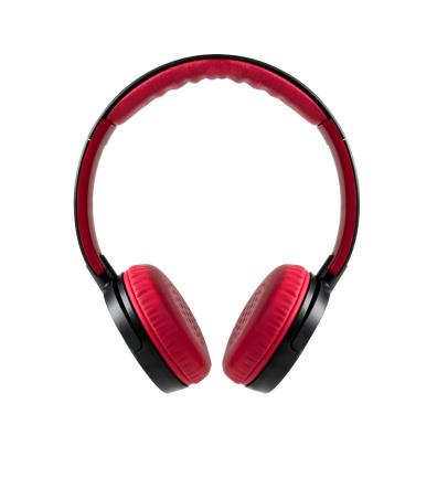 Headphone「レッドのヘッドフォン、クリッピングパス」:スマホ壁紙(1)
