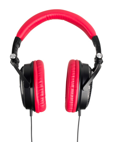 Headphone「Red Headphones」:スマホ壁紙(18)