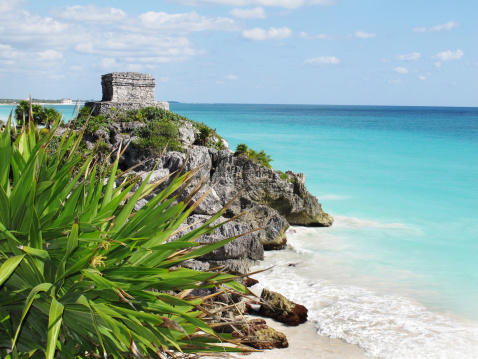 Ancient Civilization「Mexico Tulum Ancient Temple Ruin」:スマホ壁紙(8)