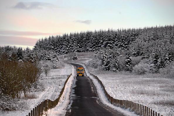 Truck「Cold Spell Hits the UK」:写真・画像(11)[壁紙.com]