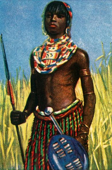 Cigarette Card「African Warrior」:写真・画像(18)[壁紙.com]