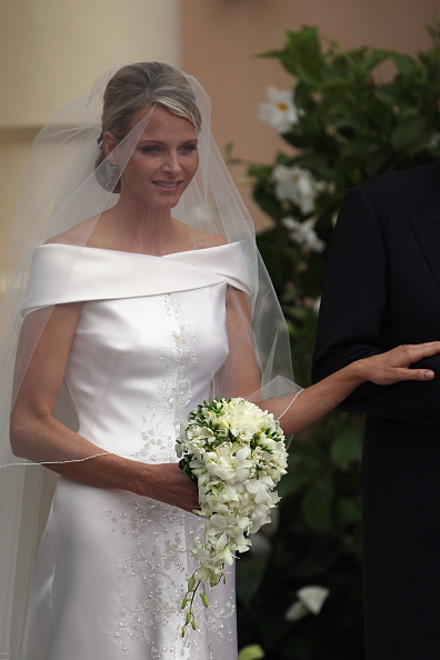 Wedding Dress「Monaco Royal Wedding - The Religious Wedding Ceremony」:写真・画像(13)[壁紙.com]