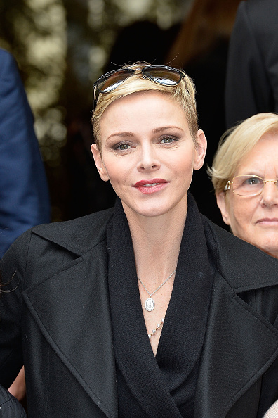 Pascal Le Segretain「Princess Charlene Of Monaco Attends Parcels Distribution At Monaco Red Cross Headquarters」:写真・画像(8)[壁紙.com]