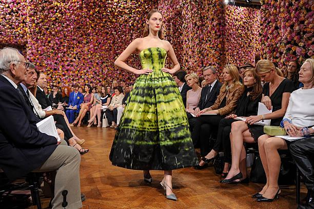 Christian Dior: Front Row - Paris Fashion Week Haute Couture F/W 2013:ニュース(壁紙.com)
