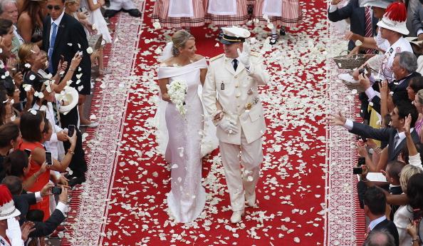 Wedding Dress「Monaco Royal Wedding - The Religious Wedding Ceremony」:写真・画像(1)[壁紙.com]