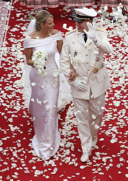 Wedding Dress「Monaco Royal Wedding - The Religious Wedding Ceremony」:写真・画像(15)[壁紙.com]