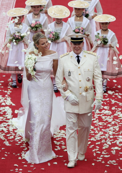 Two People「Monaco Royal Wedding - The Religious Wedding Ceremony」:写真・画像(8)[壁紙.com]