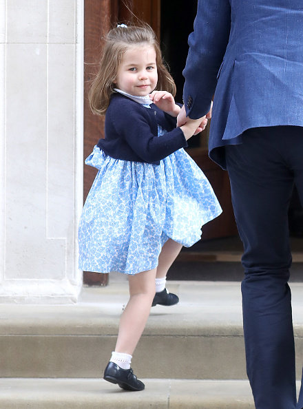Princess Charlotte of Cambridge「The Duke & Duchess Of Cambridge Depart The Lindo Wing With Their New Son」:写真・画像(9)[壁紙.com]