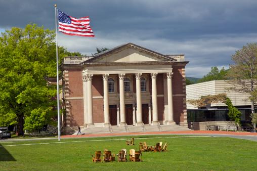 Pole「Chapin Hall, Williams College, Williamstown, The Berkshires, Massachusetts, USA」:スマホ壁紙(1)