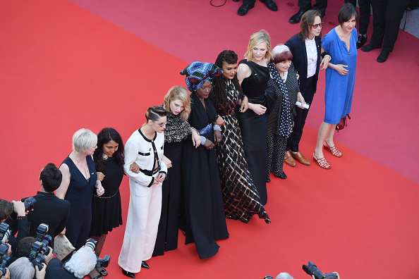 "Cannes International Film Festival「""Girls Of The Sun (Les Filles Du Soleil)"" Red Carpet Arrivals - The 71st Annual Cannes Film Festival」:写真・画像(5)[壁紙.com]"