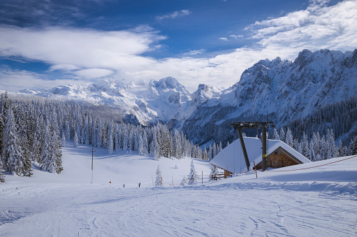 Dachstein Mountains「Austria, Dachstein, ski slope」:スマホ壁紙(15)