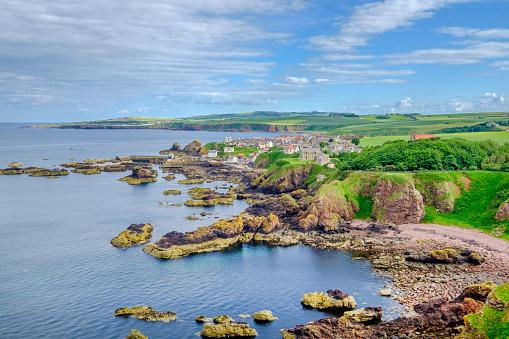 Saint Abb's Head「St Abb's Head, a rocky promontory and a national nature reserve in Berwickshire, Scotland.」:スマホ壁紙(0)