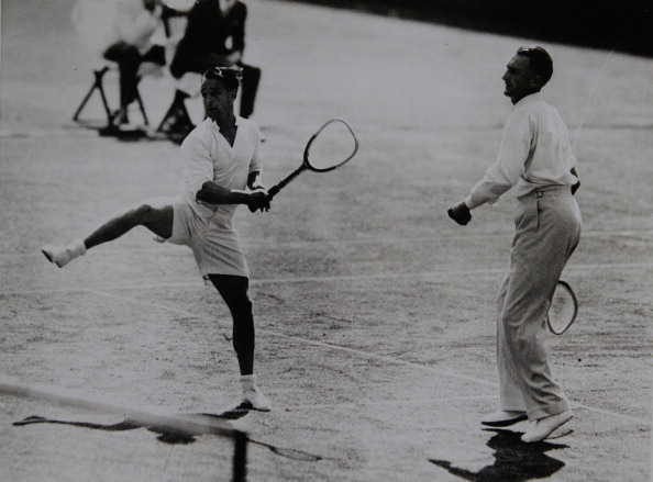 テニス「Tennis. Adrian Quist And Jack Crawford (Australia) In Their Victorious Davis Cup Against The U.S. June 1936. Photograph.」:写真・画像(19)[壁紙.com]