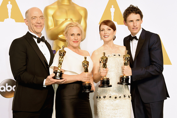 Best supporting actress prize「87th Annual Academy Awards - Press Room」:写真・画像(12)[壁紙.com]