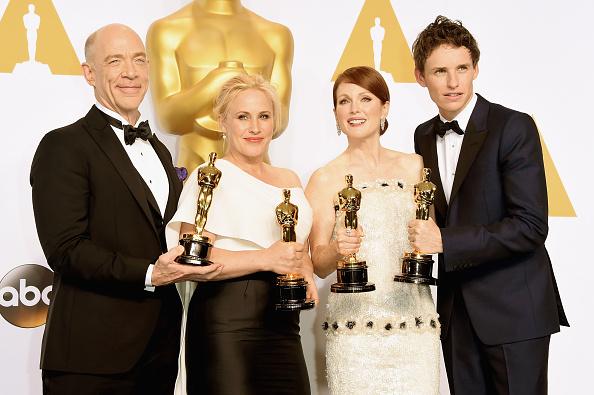 Best actor award「87th Annual Academy Awards - Press Room」:写真・画像(18)[壁紙.com]