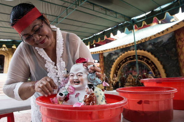 Chinese Culture「Members Of Dwipayana Tanah Kilap Temple Prepare For Chinese New Year」:写真・画像(19)[壁紙.com]