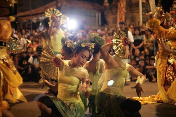 お祭り「Devils Parade In Bali A Day Before Seclusion Day」:写真・画像(3)[壁紙.com]