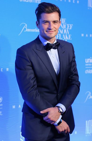 オーランド・ブルーム「11th Annual UNICEF Snowflake Ball Honoring Orlando Bloom, Mindy Grossman And Edward G. Lloyd - Arrivals」:写真・画像(6)[壁紙.com]