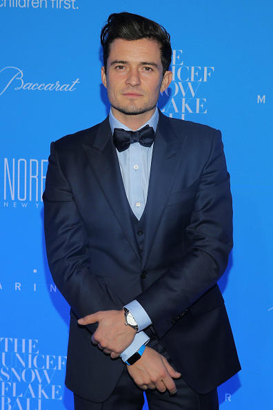 オーランド・ブルーム「11th Annual UNICEF Snowflake Ball Honoring Orlando Bloom, Mindy Grossman And Edward G. Lloyd - Arrivals」:写真・画像(9)[壁紙.com]
