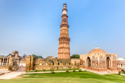 Iranian Culture「Qutub Minar Delhi India」:スマホ壁紙(6)