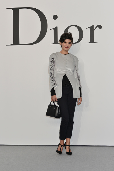 オドレイ・トトゥ「Esprit Dior Tokyo 2015 - Arrivals」:写真・画像(4)[壁紙.com]
