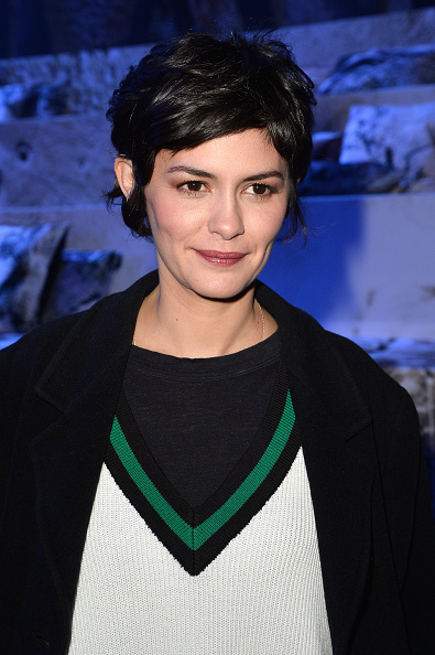 Audrey Tautou「H&M : Front Row - Paris Fashion Week Womenswear Fall/Winter 2015/2016」:写真・画像(3)[壁紙.com]