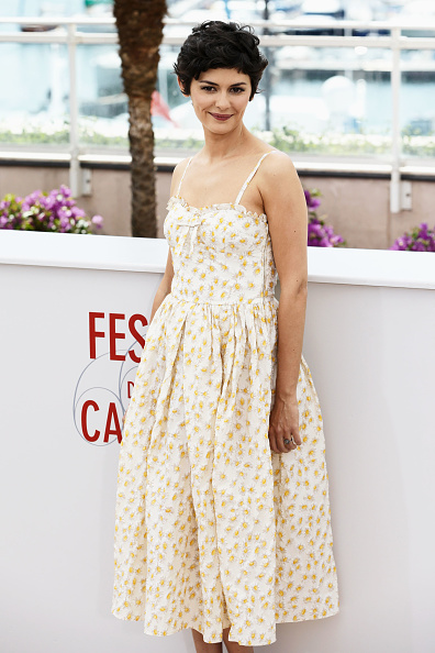 Cream Colored「Audrey Tautou Cannes Photo Call - The 66th Annual Cannes Film Festival」:写真・画像(0)[壁紙.com]