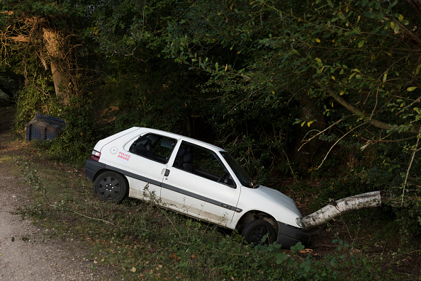Insurance「Citroen Saxo Accident 2016. Creator: Unknown.」:写真・画像(1)[壁紙.com]
