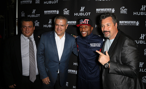 WBC「HUBLOT And Floyd Mayweather Jr.: The Perfect Combination For The Fight Of The Century」:写真・画像(8)[壁紙.com]