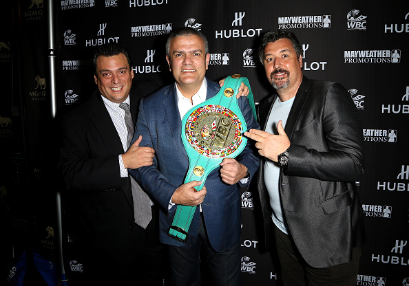 WBC「HUBLOT And Floyd Mayweather Jr.: The Perfect Combination For The Fight Of The Century」:写真・画像(7)[壁紙.com]