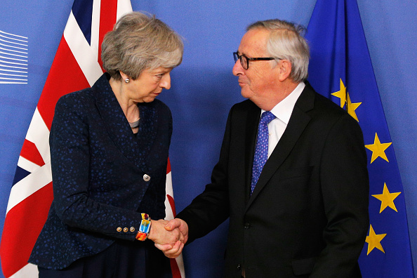 Brussels-Capital Region「British Prime Minister Travels To Brussels For Further Brexit Talks」:写真・画像(3)[壁紙.com]