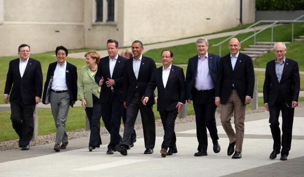 G8「World Leaders Meet For G8 Summit AT Lough Erne」:写真・画像(0)[壁紙.com]