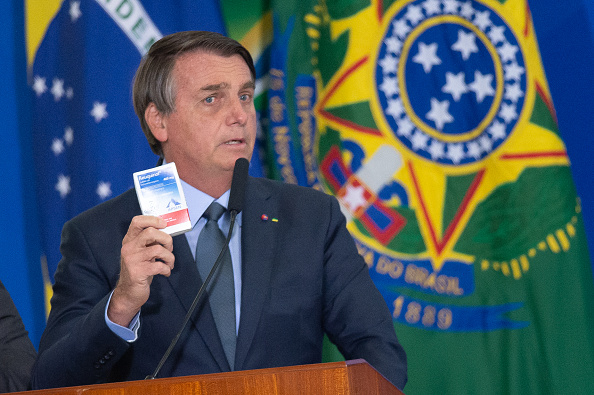 President of Brazil「Bolsonaro Participates in the Swearing-In Ceremony of the New Health Minister Amidst the Coronavirus (COVID - 19) Pandemic」:写真・画像(5)[壁紙.com]