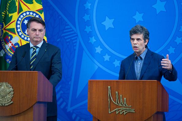 President of Brazil「President Jair Bolsonaro Announces the New Ministry of Health Amidst the Coronavirus (COVID-19) Pandemic」:写真・画像(17)[壁紙.com]