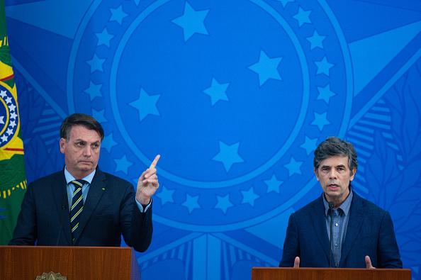 President of Brazil「President Jair Bolsonaro Announces the New Ministry of Health Amidst the Coronavirus (COVID-19) Pandemic」:写真・画像(18)[壁紙.com]